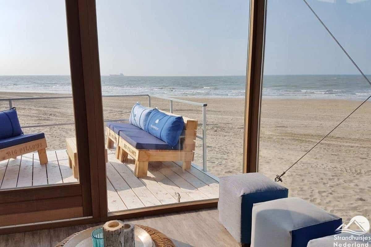 Panorama-uitzicht-strandhuisje-Nieuwvliet