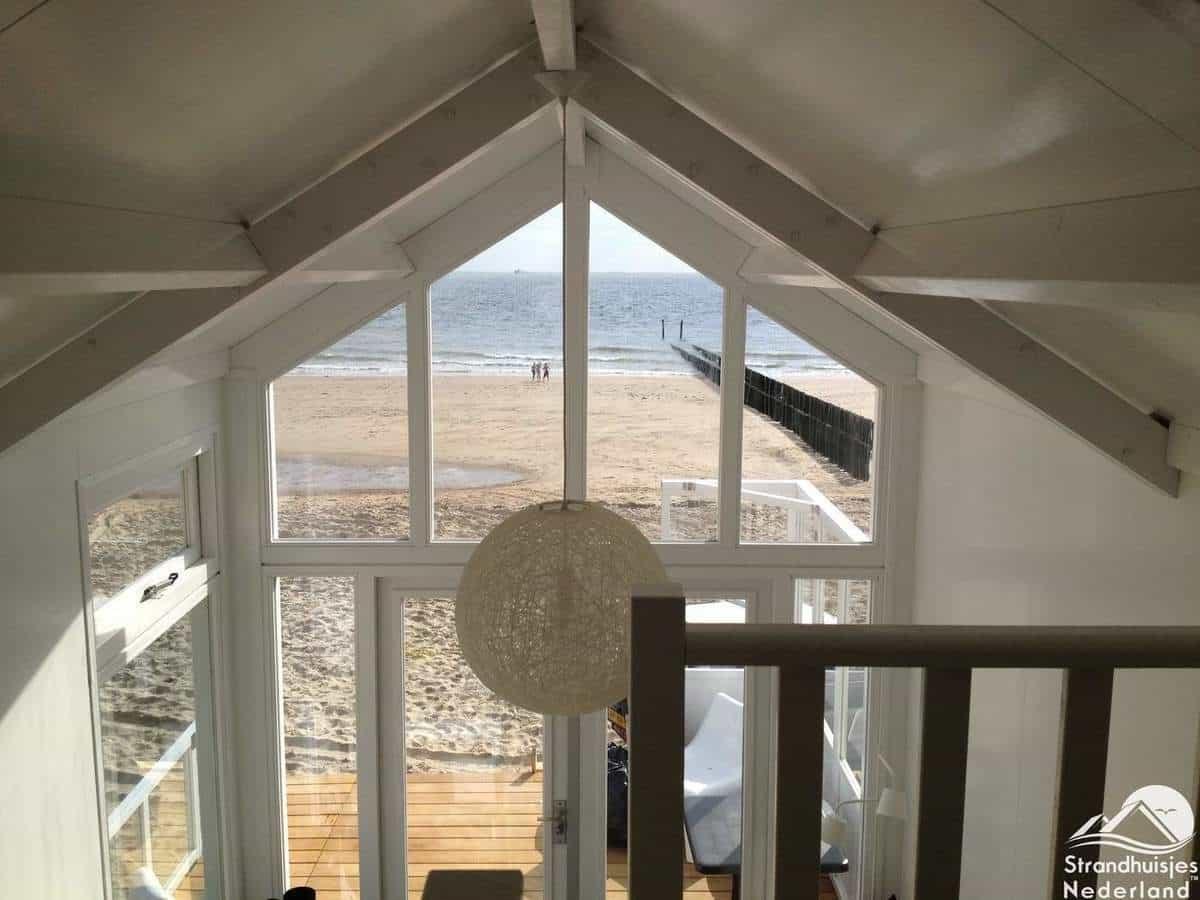Strandhuisje Dishoek interieur