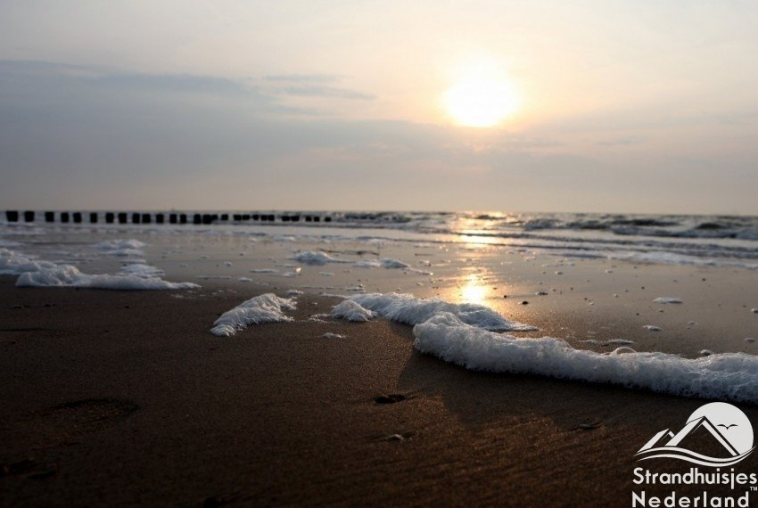 Prachtig schoon strand van Cadzand