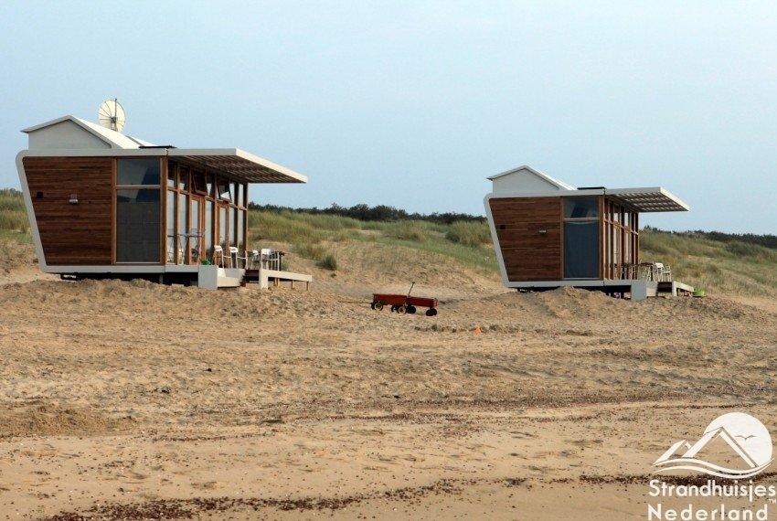 Strandhuisjes Cadzand-Bad