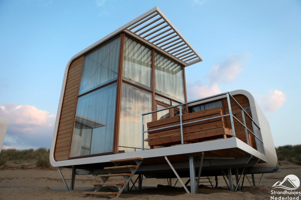 strandhuisjes nieuwvliet mooie strandhuisjes aan de. Black Bedroom Furniture Sets. Home Design Ideas