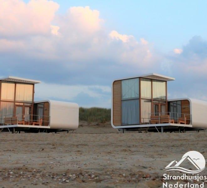 Strandhuisjes Nieuwvliet-Bad