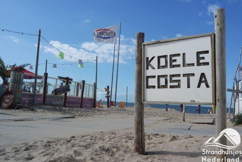 De koele costa strand noordwijk