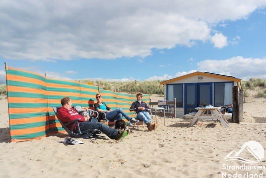 Strandhuisje Noordwijk