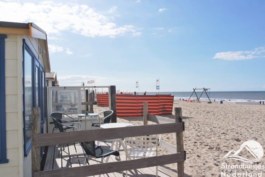 Strandhuisjes strand Katwijk