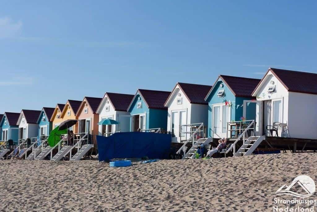 Strandslaaphuisjes Vlissingen Zeeland