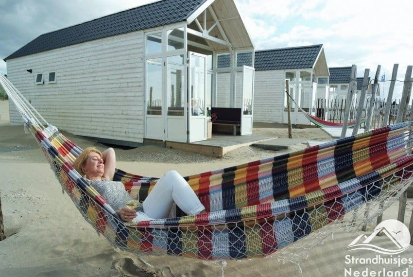 Helemaal relaxed bij strandhuisjes Paal 14