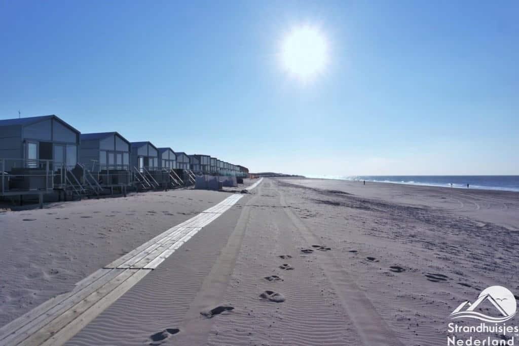 Mooi weer Domburgse strand