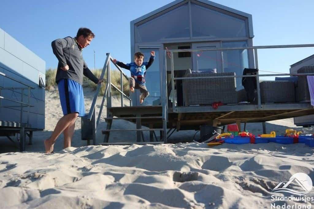 Plezier bij Slaapzand strandhuisjes