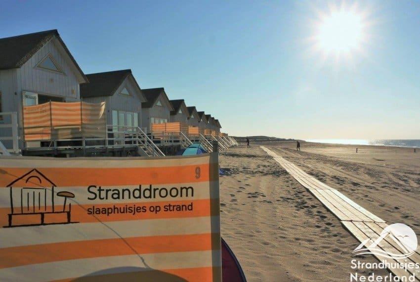 Slaapstrandhuisjes Stranddroom