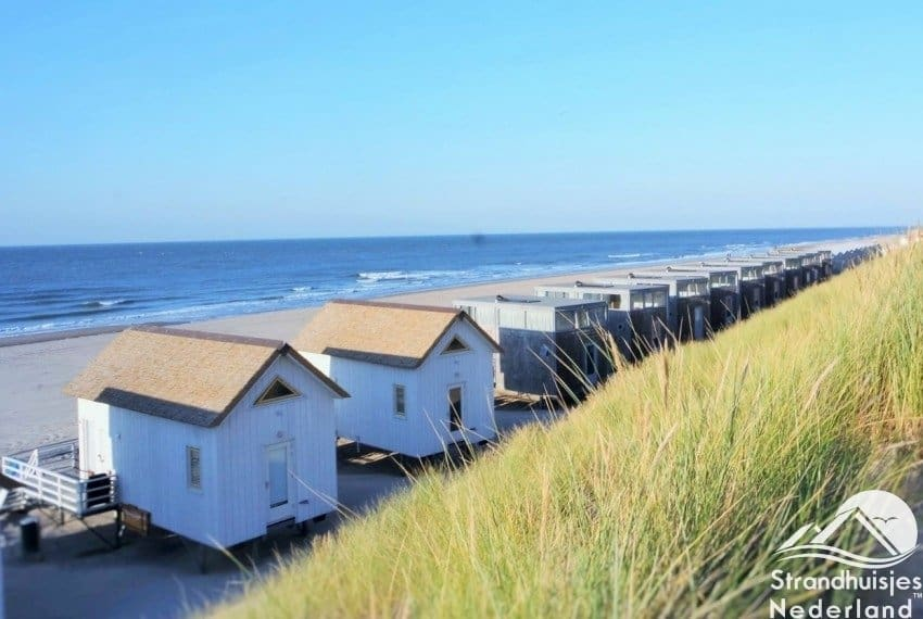 Slaapstrandhuisjes Stranddroom duinzicht