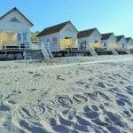 Slaapstrandhuisjes domburgse strand