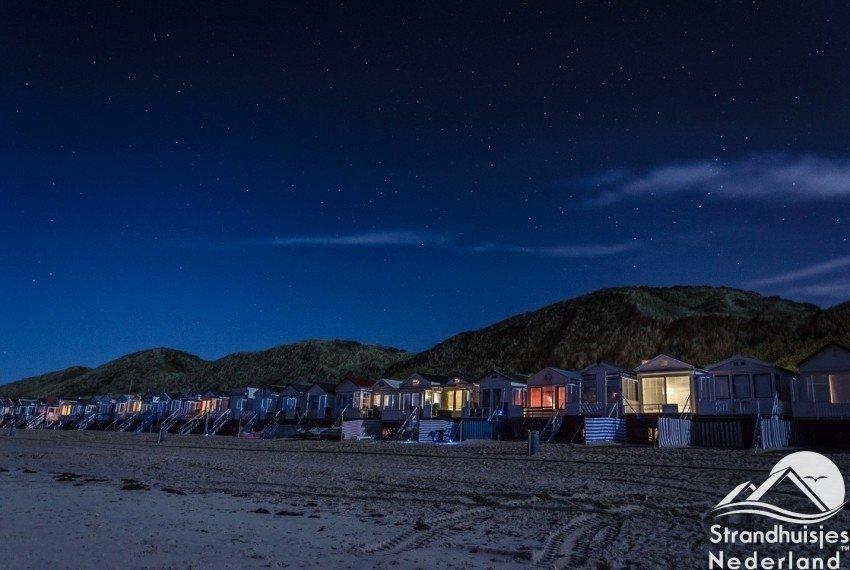 Strandhuisjes Dishoek Westduin