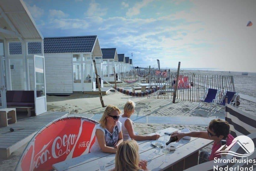 Strandtuin strandhuisje Katwijk aan Zee