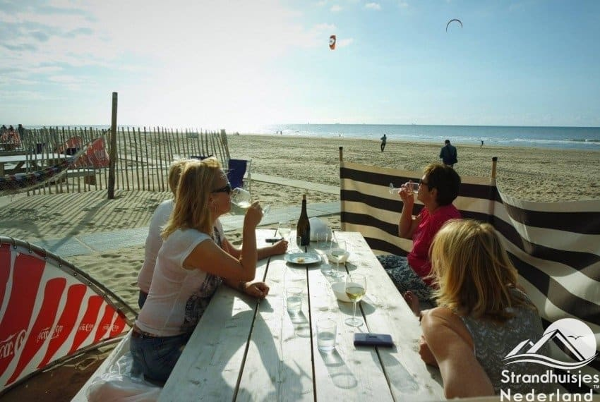 Strandtuin strandhuisje Paal 14 Katwijk aan Zee
