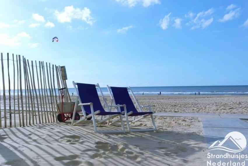 Strandtuin strandhuisjes Katwijk aan Zee