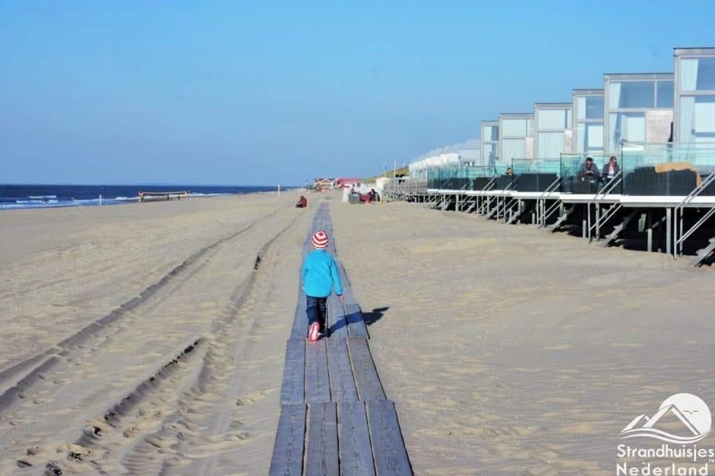 Plankier voor Slaapzand strandhuisjes