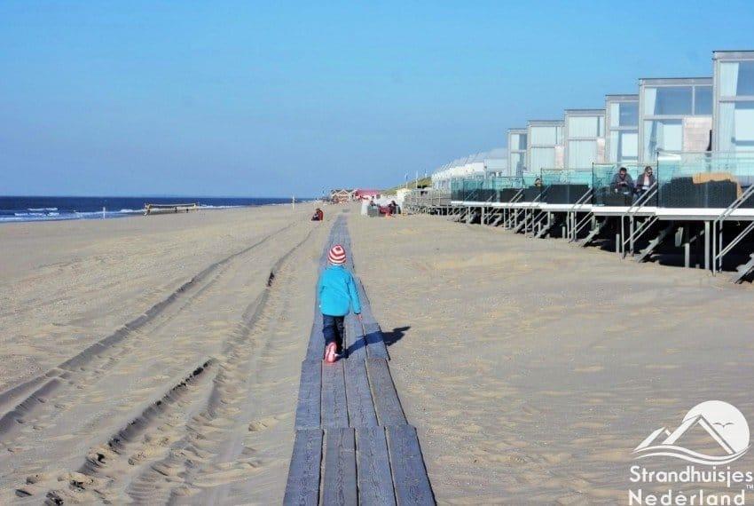 Strandweer bij Slaapzand strandhuisjes