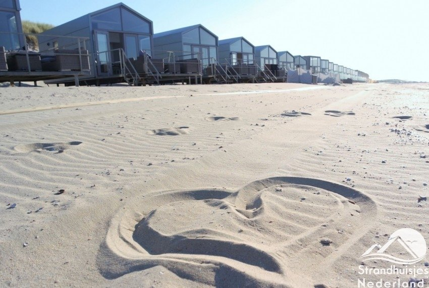 Verliefd op Slaapzand strandhuisjes