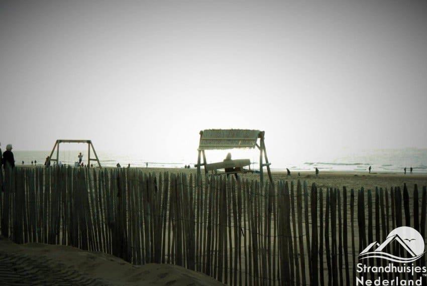 Bij Katwijk aan Zee slaapstrandhuisjes Key West