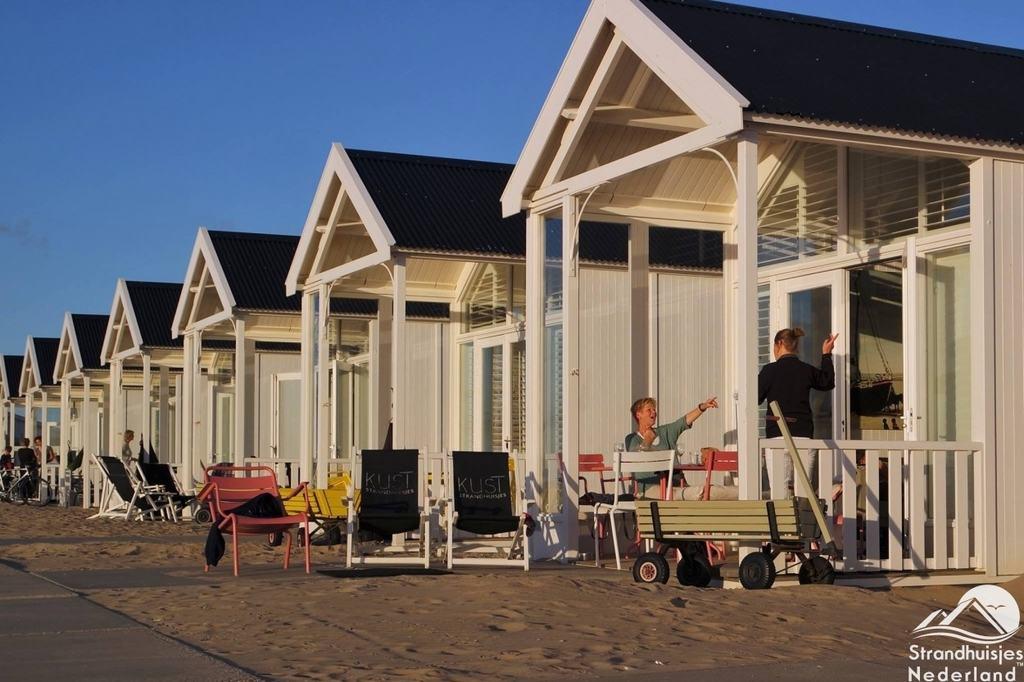 Strandhuisjes kust