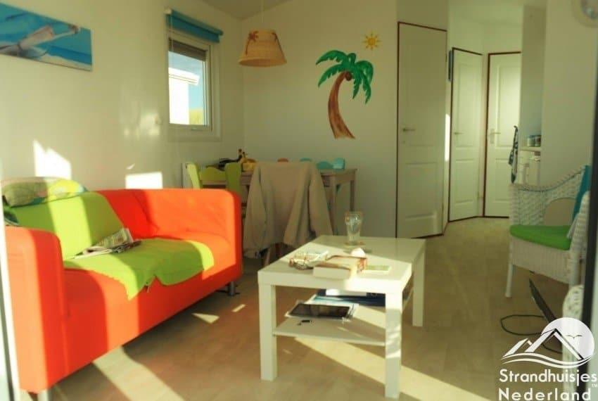 Interieur strandhuisjes Key West Katwijk aan Zee