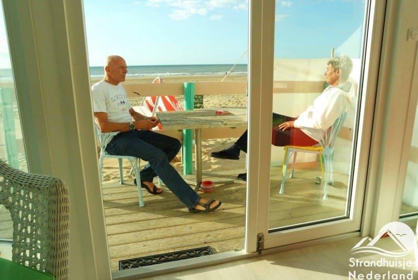 Ontspannen in een huisje aan zee bij Katwijk aan Zee