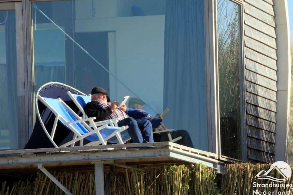 Relaxen bij strandhuisjes Groede