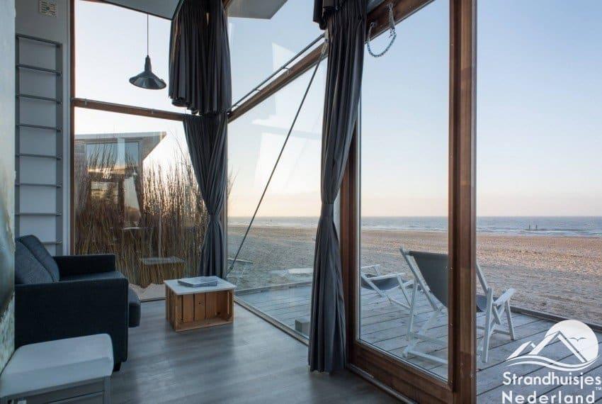 Strandhuisjes Groede binnenkant