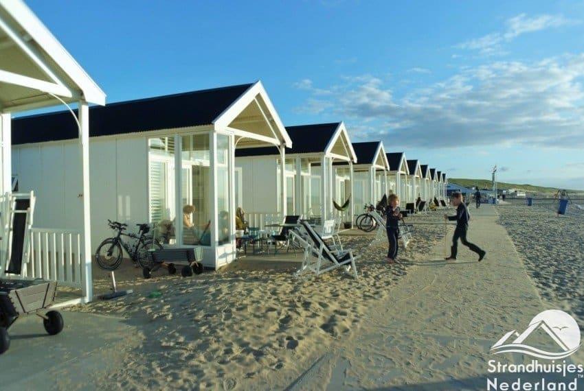 Strandhuisjes Kust Katwijk