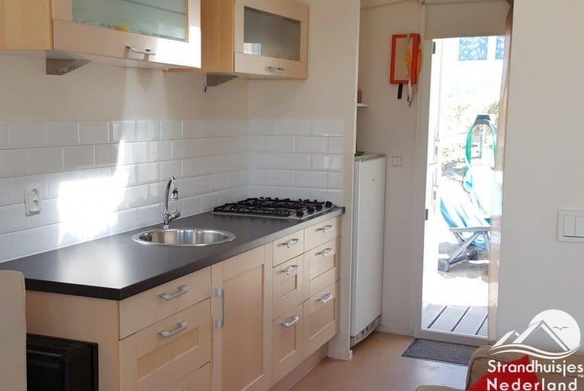 keuken strandhuisje IJmuiden aan zee 509