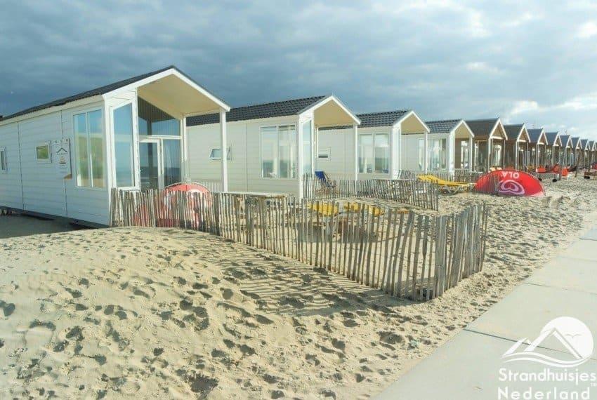 Strandhuisjes De Watering Katwijk aan Zee