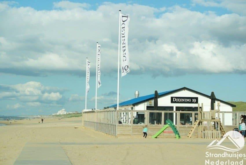 Strandpaviljoen op loopafstand