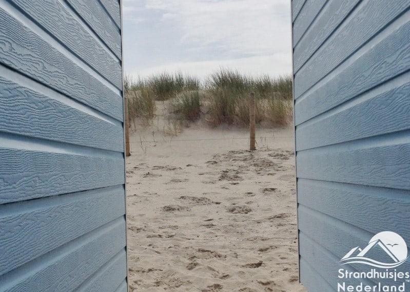duinen strandhuisje Hoek van Holland