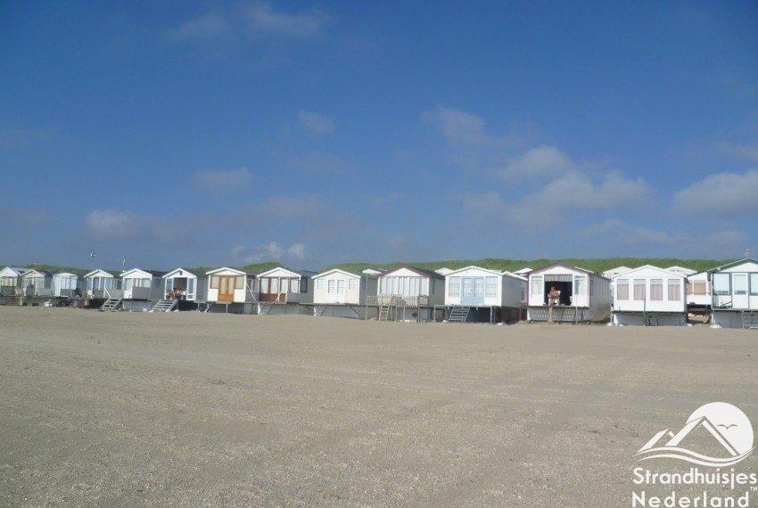 strandhuisjes IJmuiden aan Zee