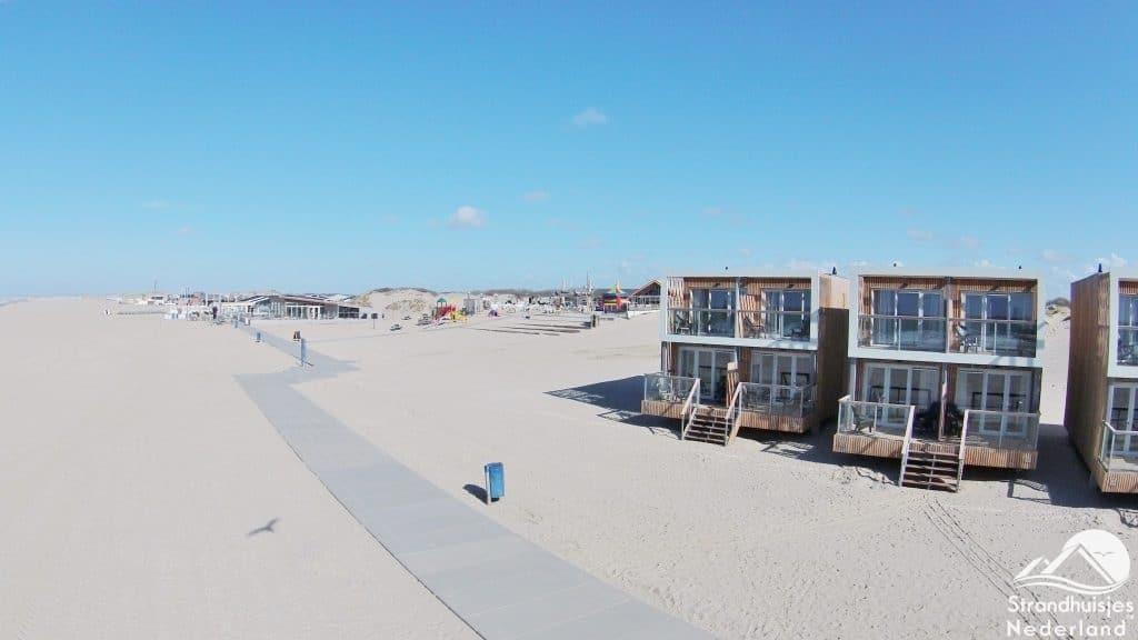 Strandhuisjes Hoek van Holland