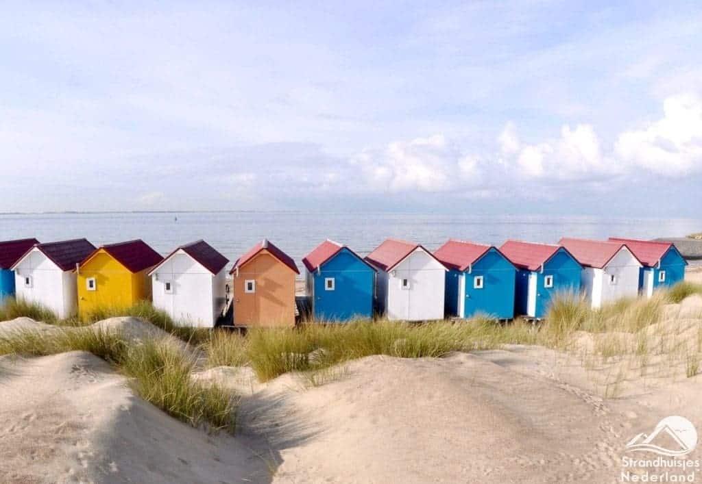 Strandhuisjes aan Zee Vlissingen