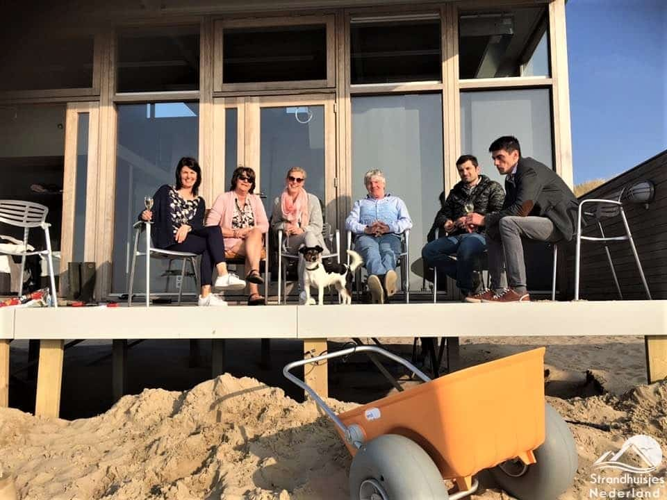 Gasten strandhuisje Cadzand