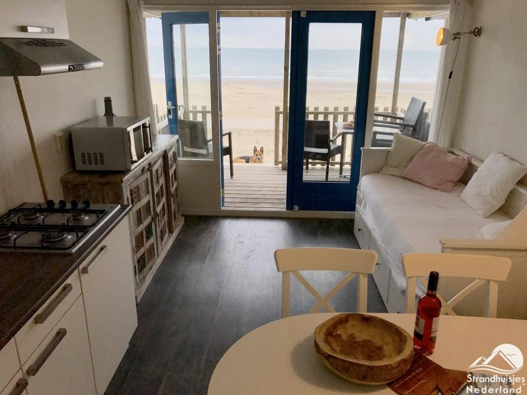 Interieur strandhuisje Wijk aan Zee 1