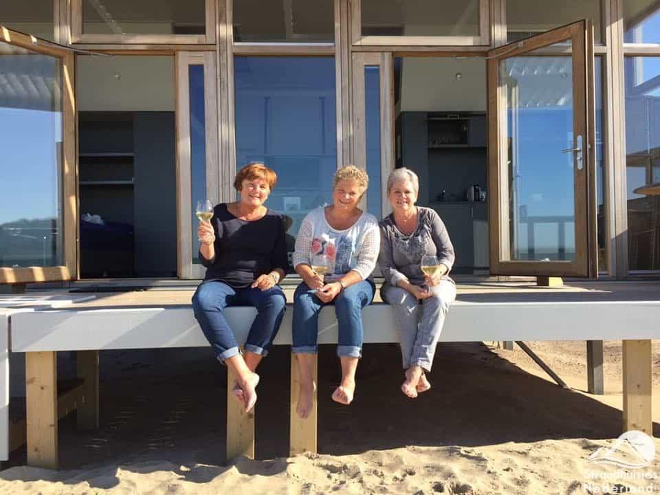 Gezellig bij strandhuisje Cadzand