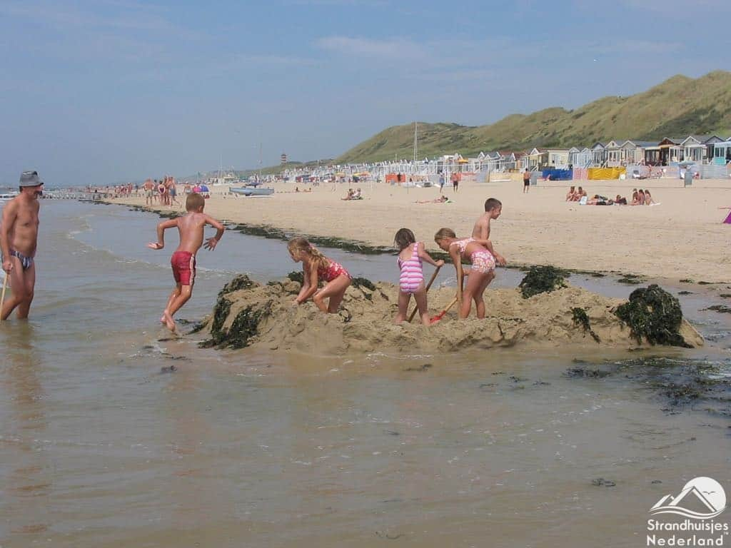 Strand Dishoek - Fort graven