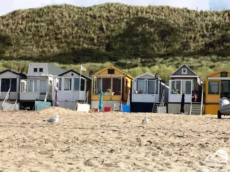 Strandhuisjes Dishoek Zeeland