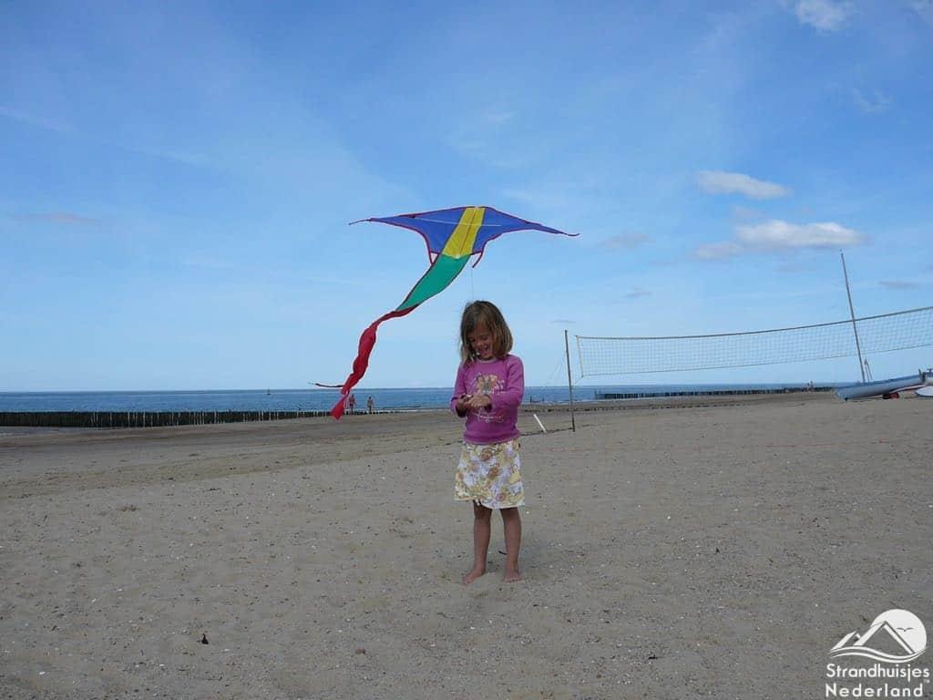 Vliegeren strand Dishoek