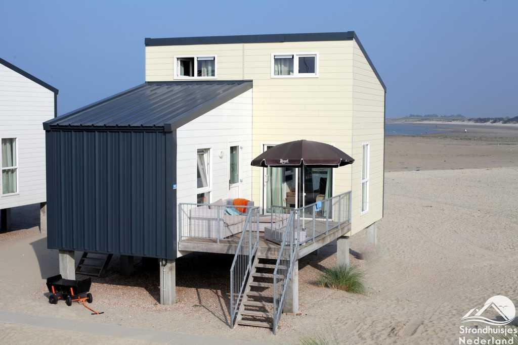 Groot strandhuis 6 personen Kamperland Zeeland