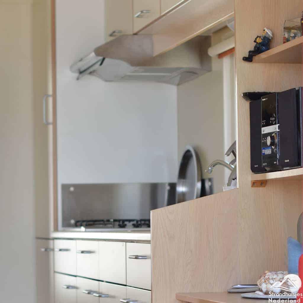 Keuken strandhuisje Vlissingen