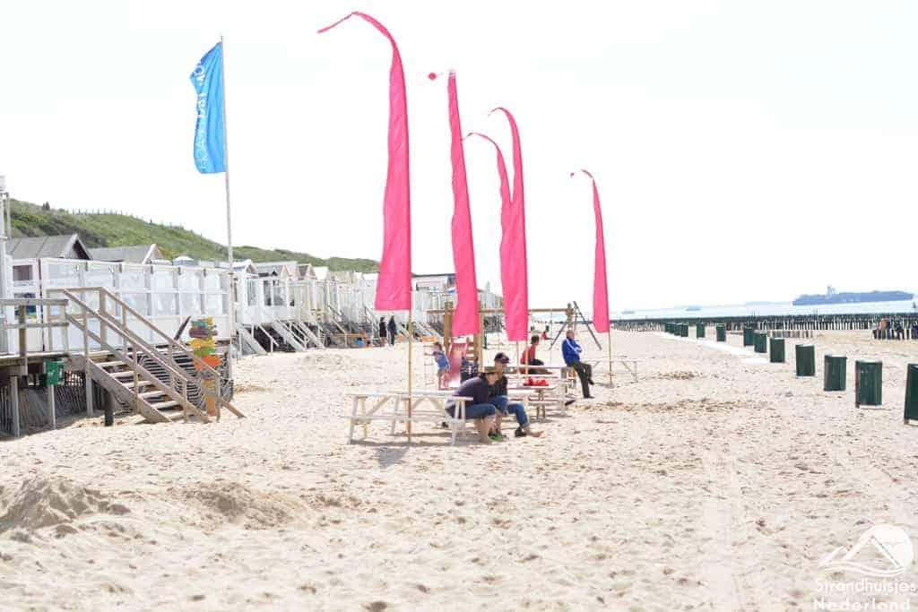 Uitrusten op het strand