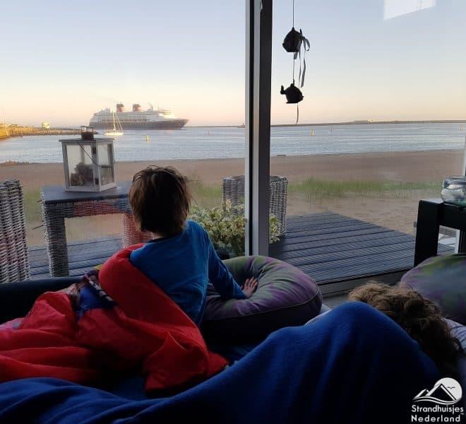 Wakker worden strandhuisje IJmuiden 73