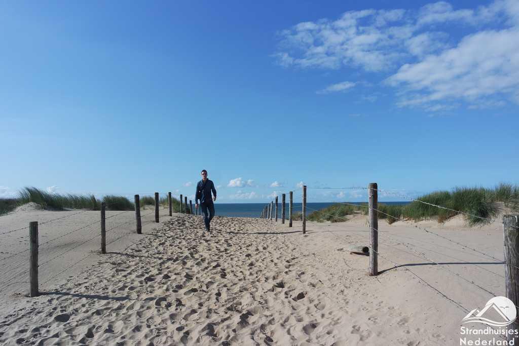 Duinovergang strand Katwijk aan Zee