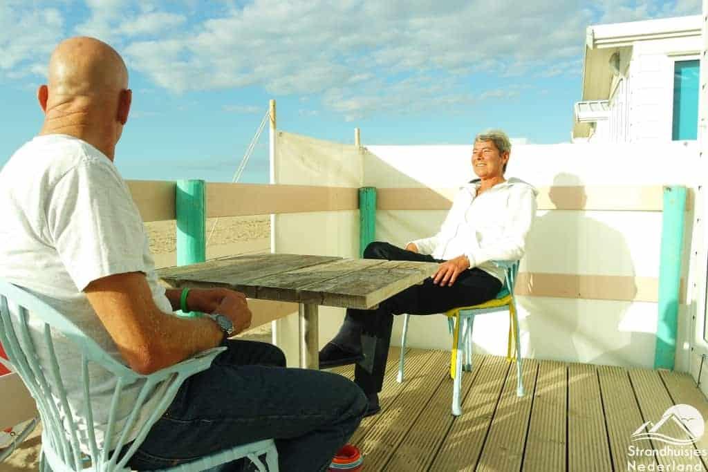 Huisje aan zee Key West Katwijk