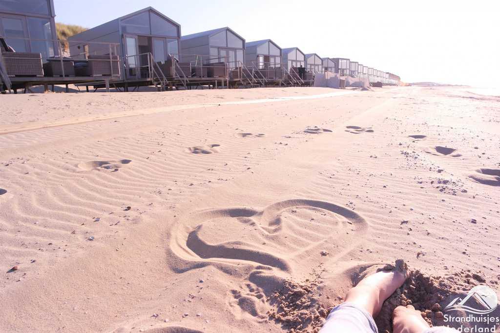 Huisjes op het strand - Slaapzand